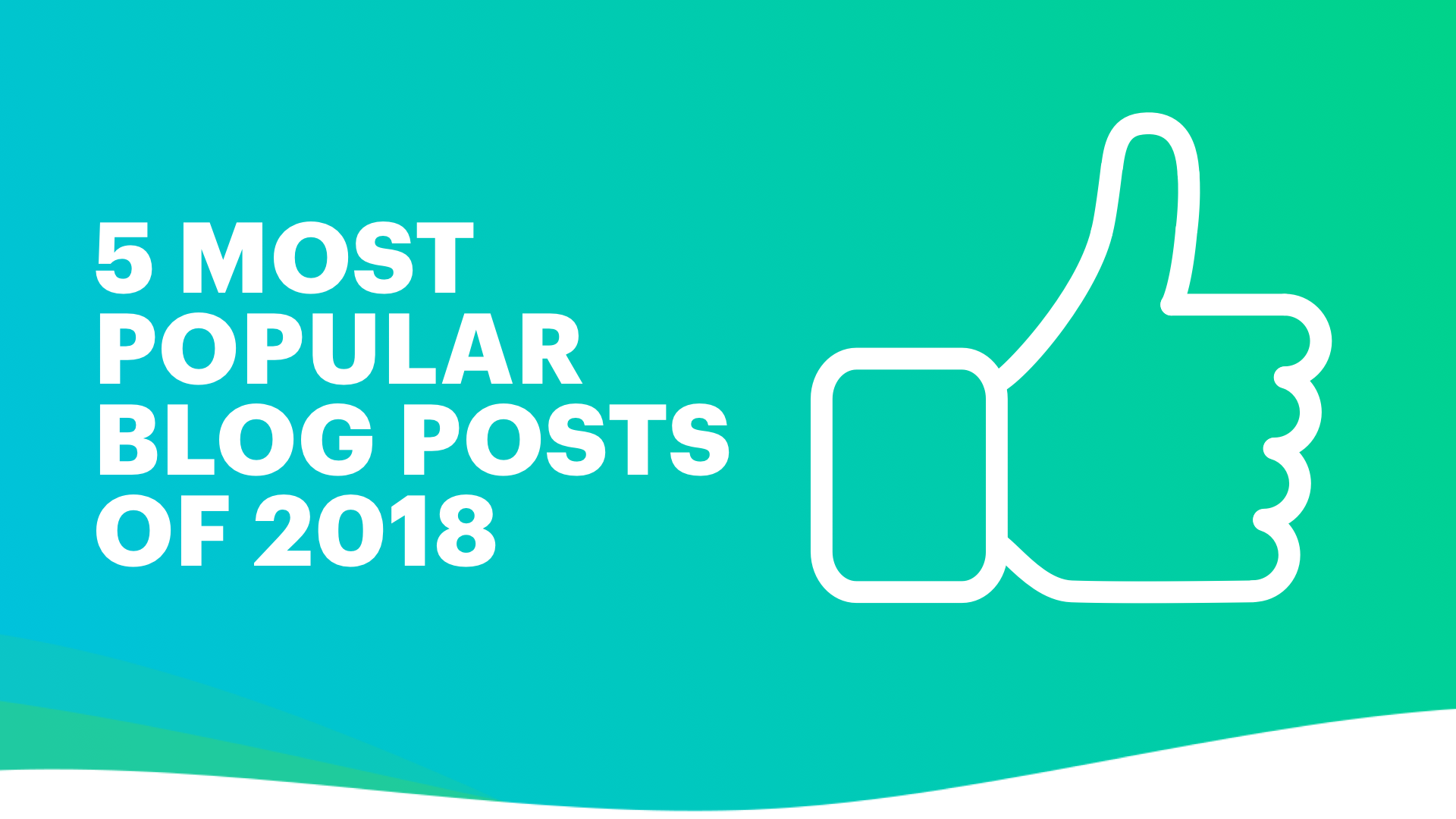 Blog ML 5 most popular blog posts of 2018 01072019 2