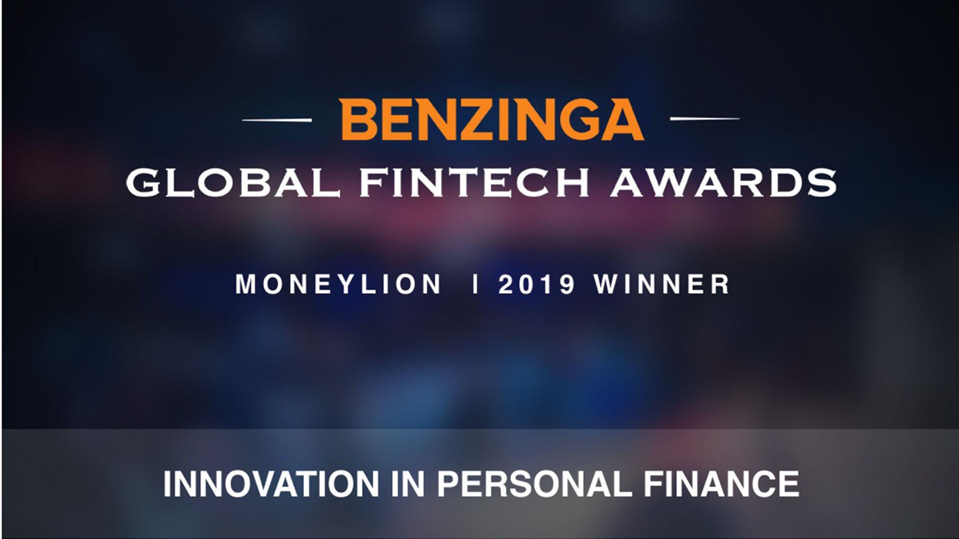benzinga award