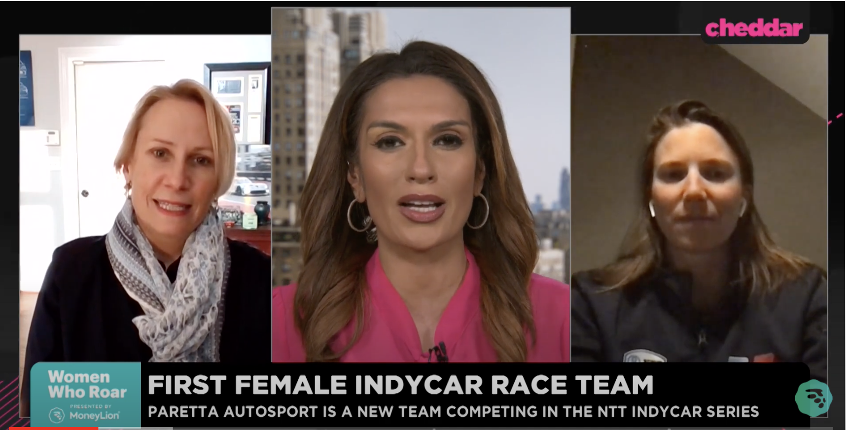 First female indy car team
