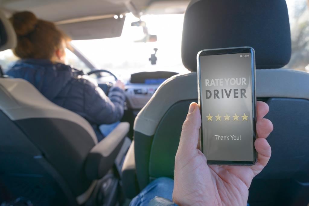 uber rental car program