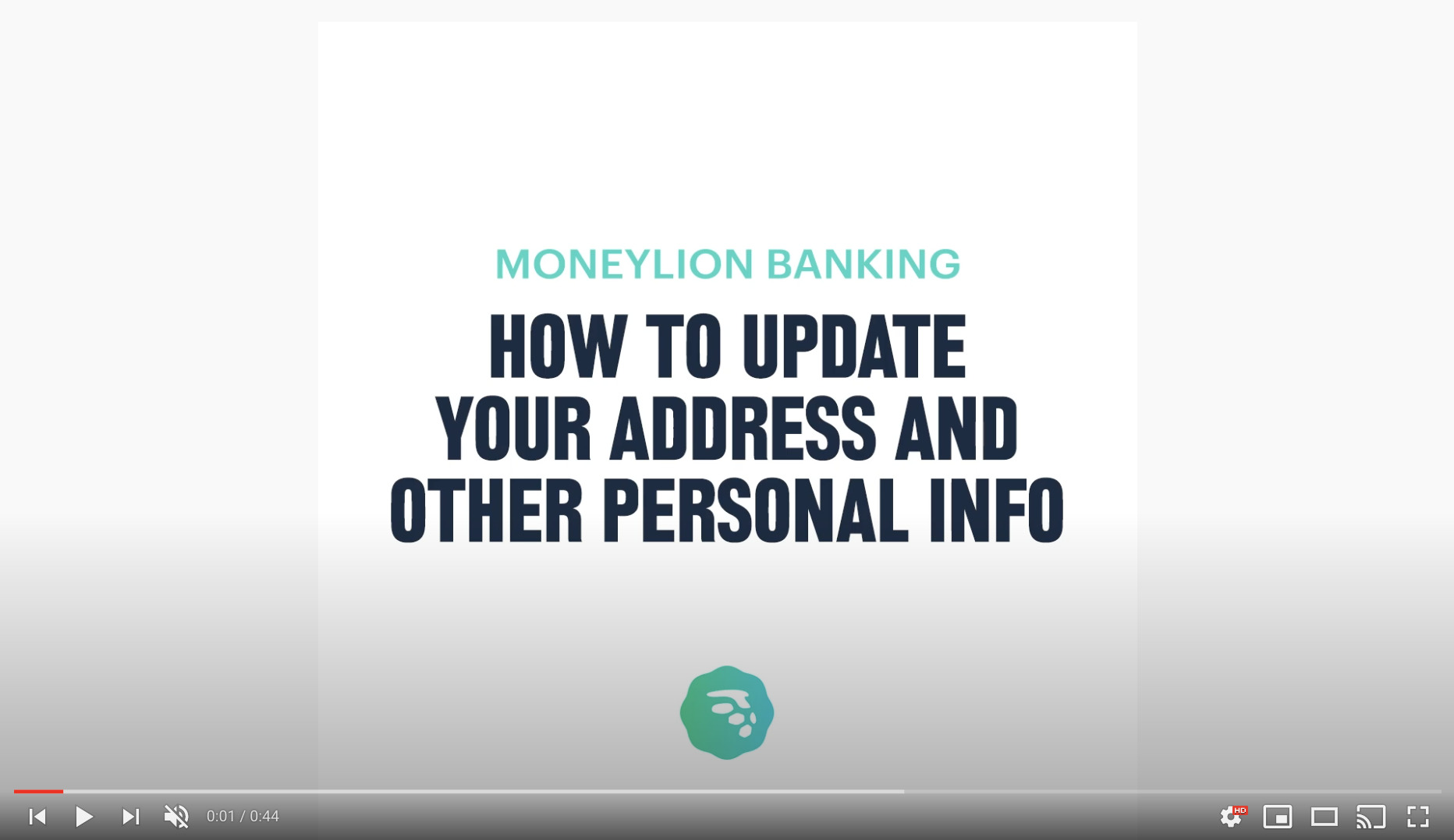 how to update personal info